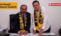Bayburt Spor Yeni Hocası Erdal İşkar'la Sözleşme İmzaladı