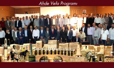 Bayburt'ta Ahde Vefa Programı Gerçekleştirildi-Foto Haber