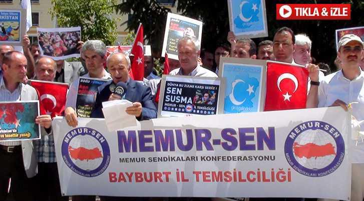 """Uygur Türklerine Zulüm Yapan """"Çin"""" Kınandı"""
