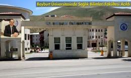 Bayburt Üniversitesi Sağlık Bilimleri Fakültesi Açıldı