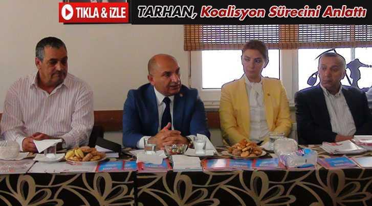 CHP Milletvekili Tarhan, Koalisyon Sürecini Anlattı