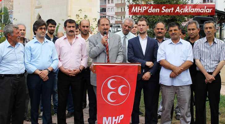 MHP İl Başkanı Süleyman Burç'tan Sert Açıklamalar