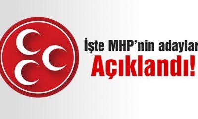 Bayburt MHP Milletvekili Adayları Açıklandı