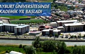 Bayburt Üniversitesinde Akademik Yıl Başladı