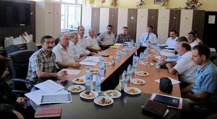 Orta Öğretim Müdürleri Toplantı Düzenledi