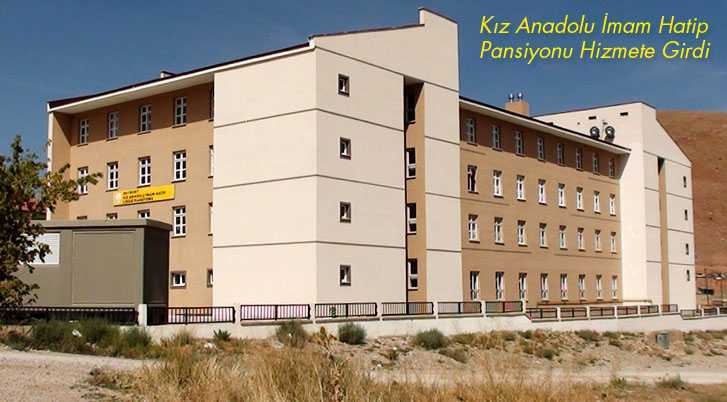 Kız Anadolu İmam Hatip Lisesi Pansiyonu Yeni Döneme Hazır