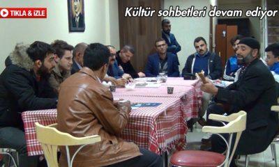 BAYDER Kültür Sohbetleri Devam Ediyor