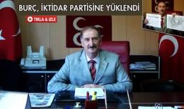 MHP İl Başkanı Burç, İktidar Partisine Yüklendi