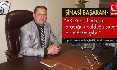 Şinasi Başaran, AK Parti'ye Yüklendi…