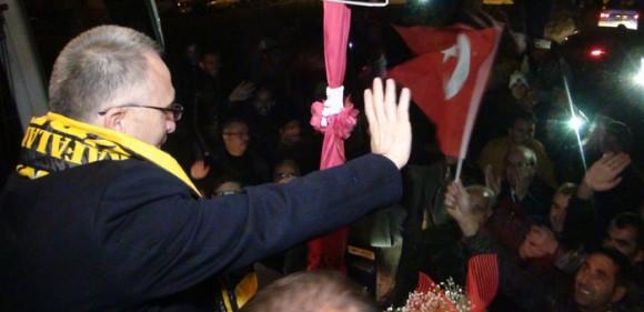 Naci Ağbal'a Memleketinde Muhteşem Karşılama-Foto Haber