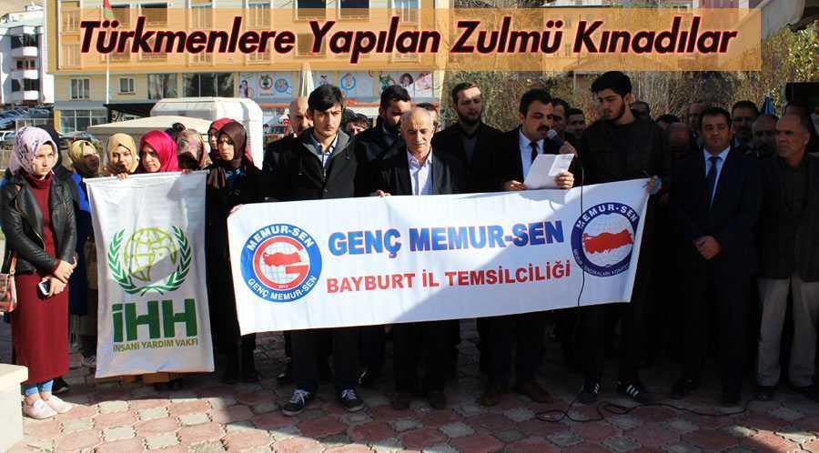 Memur-Sen Türkmenlere Yapılan Zulmü Kınadı
