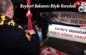 Naci Ağbal'a Memleketinde Muhteşem Karşılama…