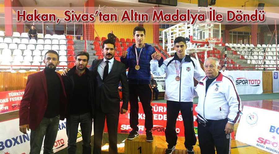 Hakan Çiğdem Sivas'tan Şampiyon Olarak Döndü