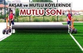Akşar ve Mutlu Köylerine Müjdeli Haber