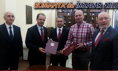 Bayburt Üniversitesi Romanya'da İmzaları Attı