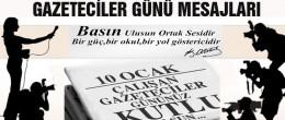 Çalışan Gazeteciler Mesajları…