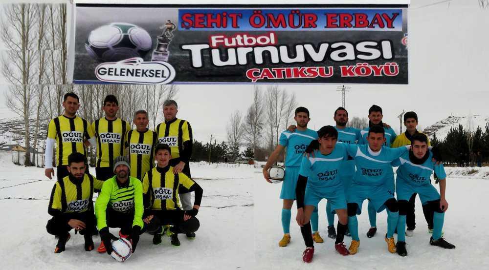 """Çatıksu Köyünde """"Şehit Ömür Erbay"""" Futbol Turnuvası"""
