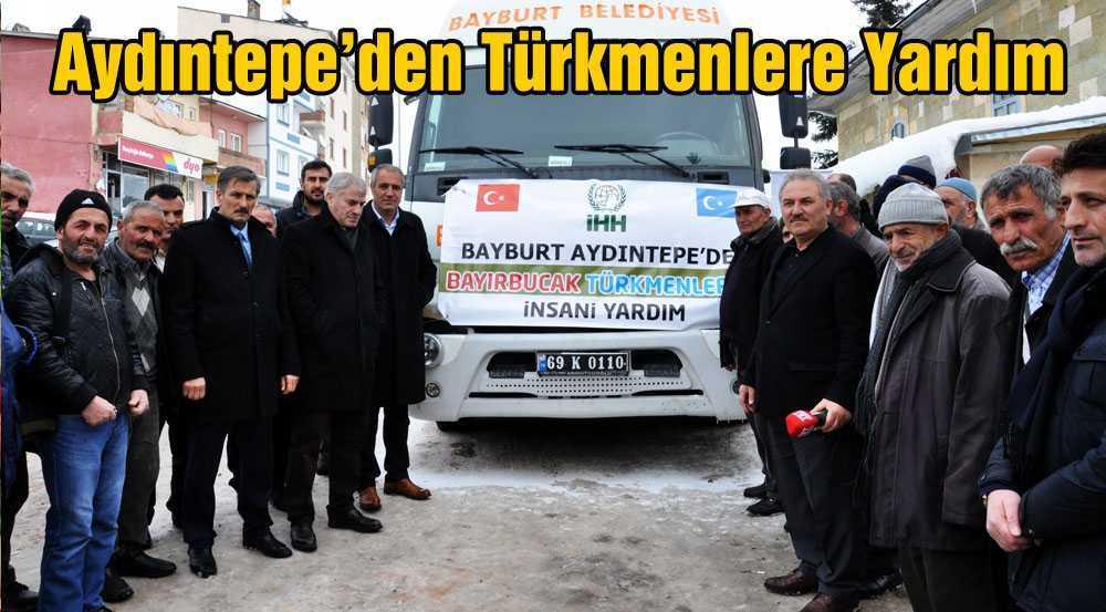Aydıntepe'den Türkmenlere Yardım Eli…