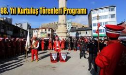 Bayburt'un 98. Yıl Kurtuluş Törenleri Programı