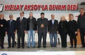 Kızılay Aksoy'la Devam Dedi
