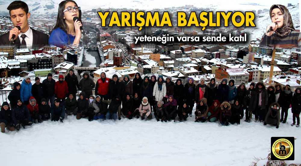 Türk Müziği Yarışması Başlıyor…