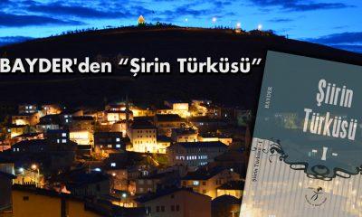 """BAYDER'den """"Şirin Türküsü"""" Kitabı"""