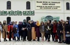 Üniversite Öğrencilerinin Bilim-Kültür Gezisi