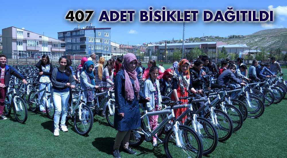 407 Adet Bisiklet Sahiplerini Buldu