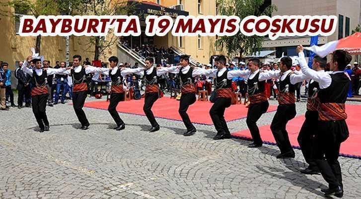 Bayburt'ta 19 Mayıs Coşkusu