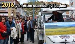 Bayburt'a 2016 Yılının İlk Turistleri Geldi