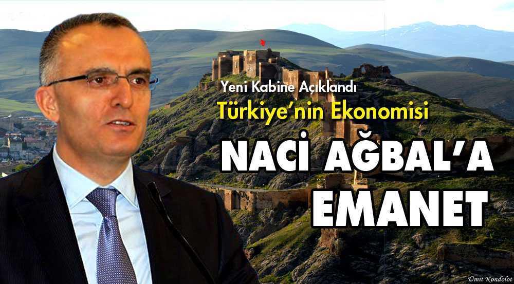 Türkiye'nin Ekonomisi Bayburt'lu Ağbal'a Emanet