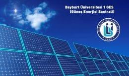 Bayburt Üniversitesi Elektriğini Kendisi Üretecek