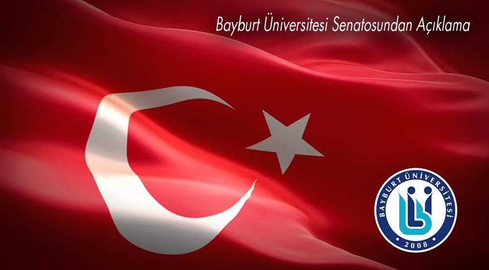 Bayburt Üniversitesi Senatosundan Açıklama