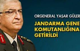 Orgeneral Yaşar Güler Jandarma Genel Komutanlığına Getirildi