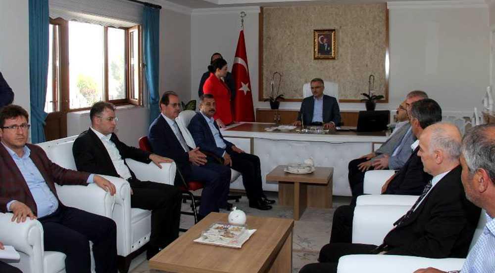 Maliye Bakanı Naci Ağbal İlçe ve Beldeleri Ziyaret Etti