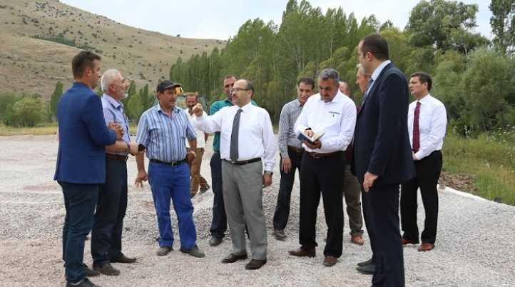 """Vali Ustaoğlu; """" Önceliğimiz İçme Suyu """""""