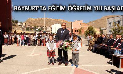 Bayburt'ta Eğitim Öğretim Yılı Başladı