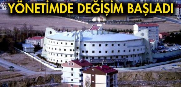 Bayburt'ta Kamu Hastaneleri İdaresinde Değişim