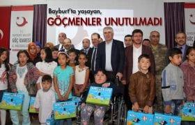Bayburt'ta Yaşayan Göçmenler Unutulmadı