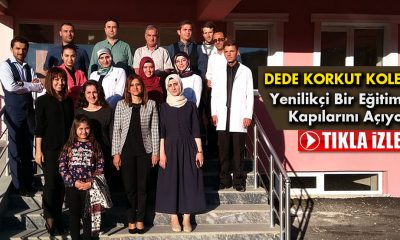 Dede Korkut Koleji Yenilikçi Bir Eğitime Kapılarını Açıyor
