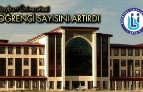 Bayburt Üniversitesinde Öğrenci Sayısı Artmaya Devam Ediyor