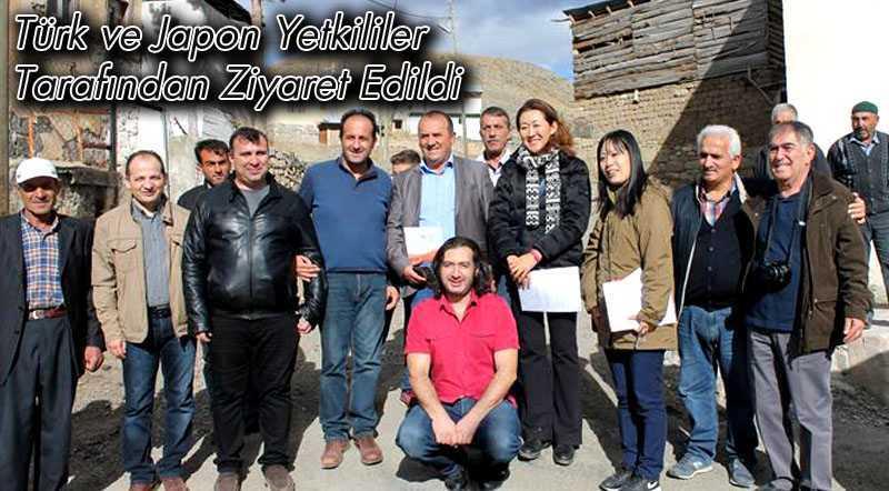 Türk ve Japon Yetkililer Tarafından Ziyaret Edildi