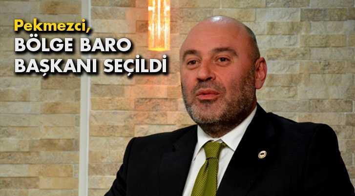 Serkan Pekmezci Bölge Baro Başkanı Seçildi