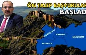 Bayburt'ta Ön Talep Başvuruları Başladı