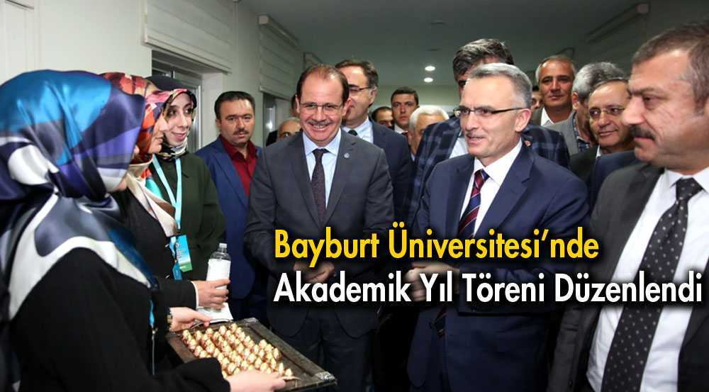 Bayburt Üniversitesinde Akedemik Yıl Töreni