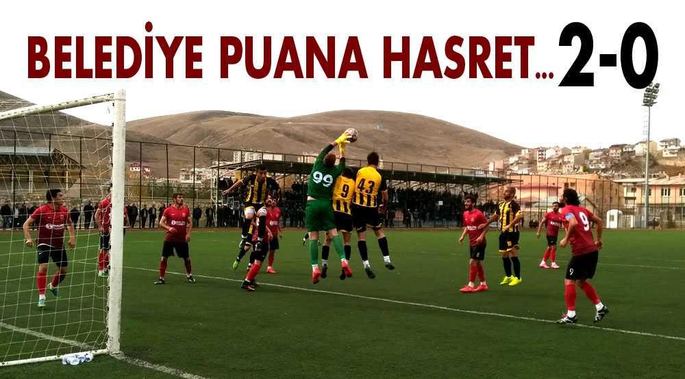 Belediyespor Puana Hasret