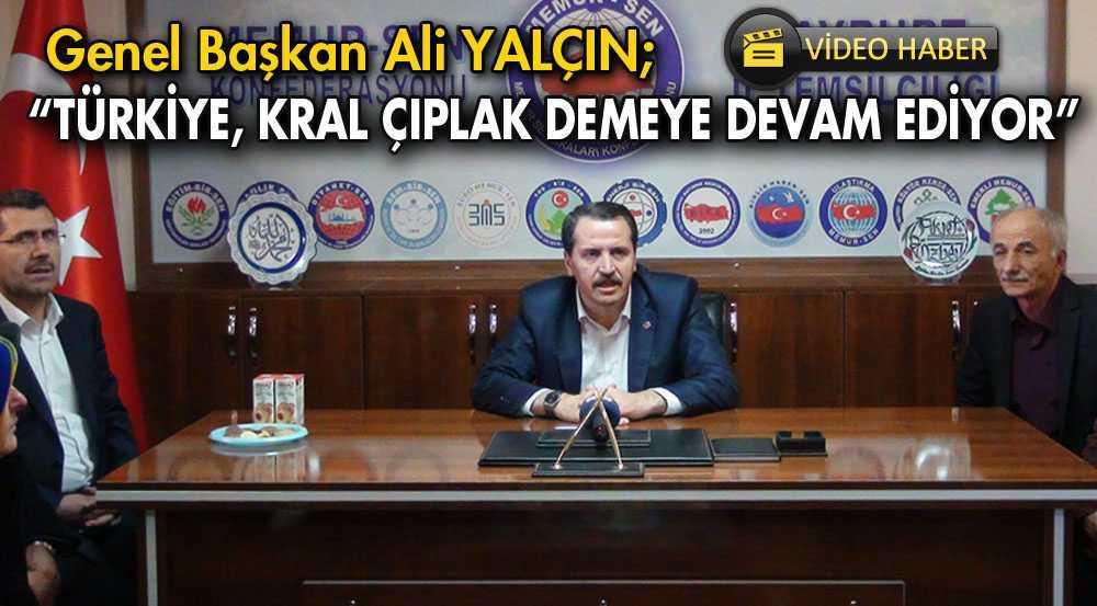 Ali Yalçın, Bayburt'tan Türkiye Gündemini Değerlendirdi