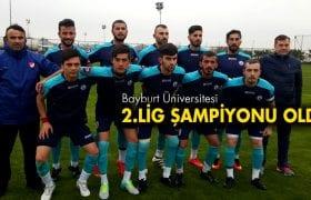 Bayburt Üniversitesi 1. Lige Yükseldi