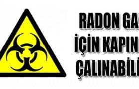 Evlerde Dedektörler İle Radon Gazı Ölçümü Yapılacak