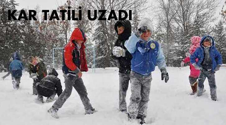 Bayburt'ta Kar Tatili İki Güne Çıktı